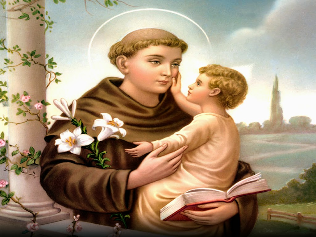 Image result for image of saint anthony