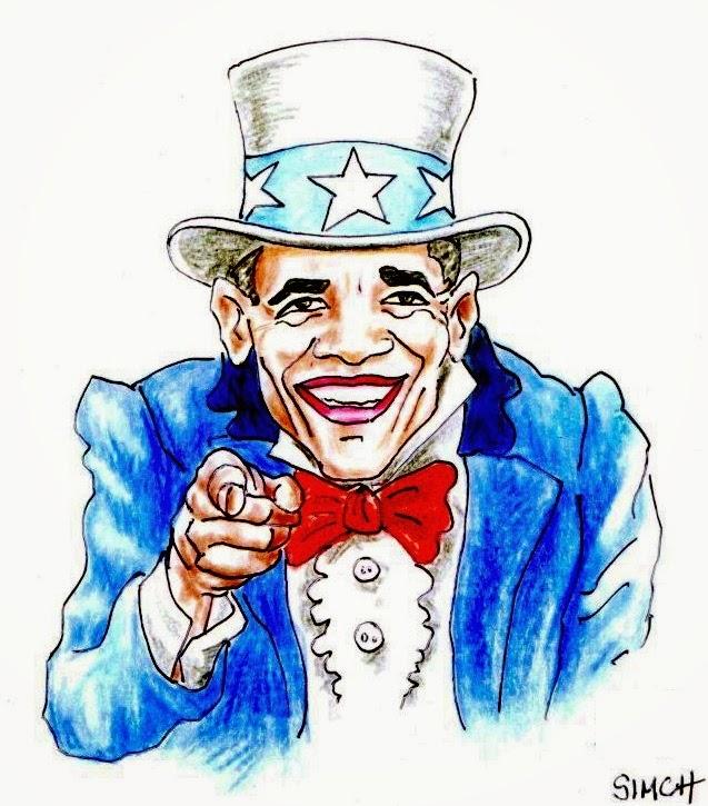 Simch: Obama Sam.