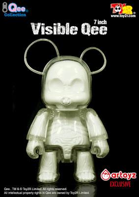 Toy2Roy - Artoyz Exclusive Glow in the Dark Edition Visible Qee
