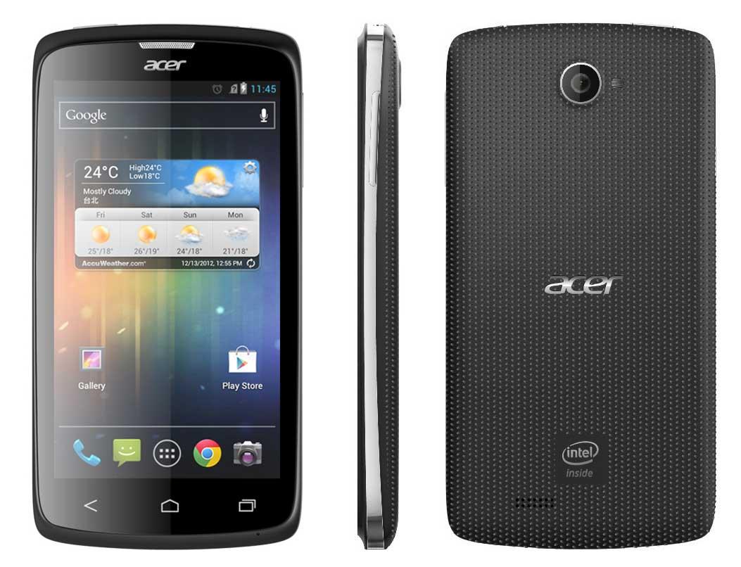 Spesifikasi dan Harga Acer Liquid C1, Ponsel Android dengan Intel Atom ...