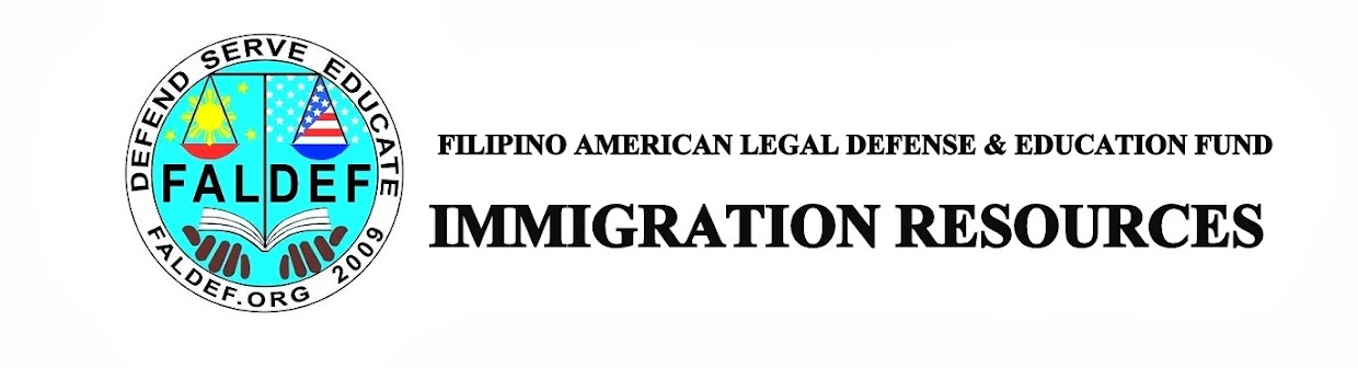 FALDEF: Immigration Resources