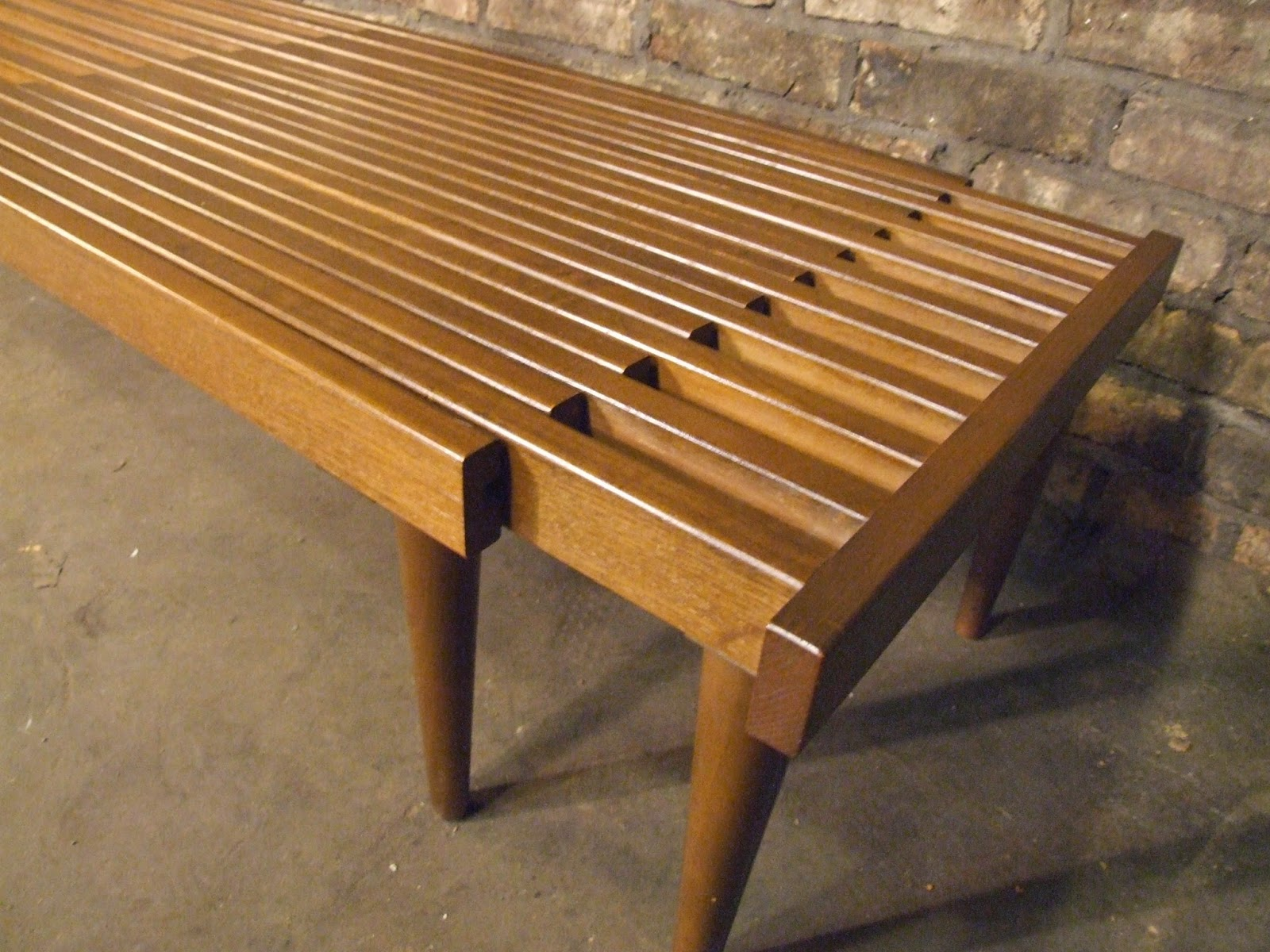 Mid Century Chicago Brown Saltman Expanding Coffee Table