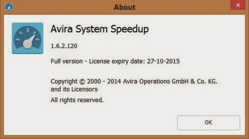 Avira System Speedup 1.6.x Full Patch