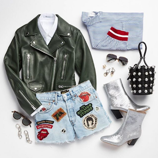 Rev up your wardrobe with streetwise pieces.