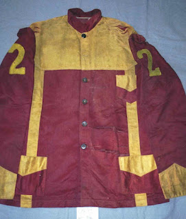 Art conservation of historic harness racing silks, museum storage improvements, silk textile artifacts