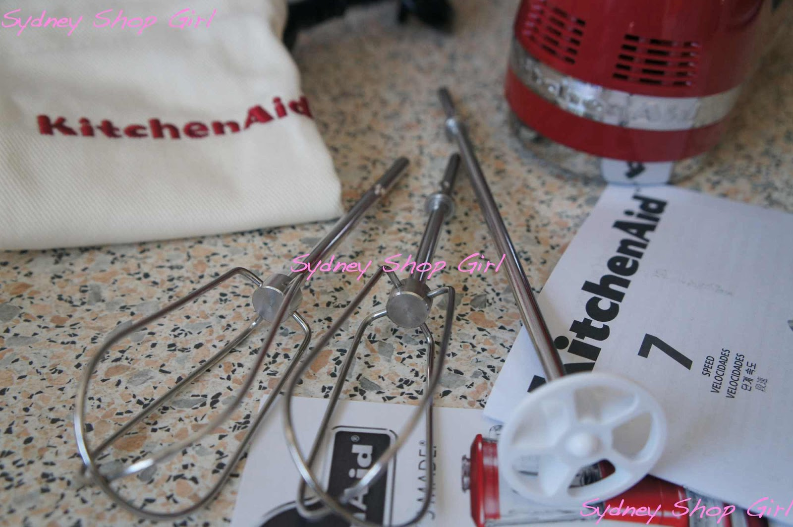Sydney Shop Girl: Bundie and Cake? A KitchenAid 7 Speed Hand Mixer ...