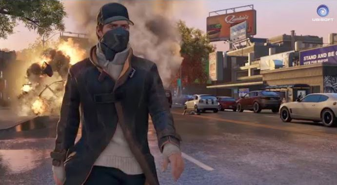 Watch_Dogs le jeu où il est possible de hacker la ville de Chicago