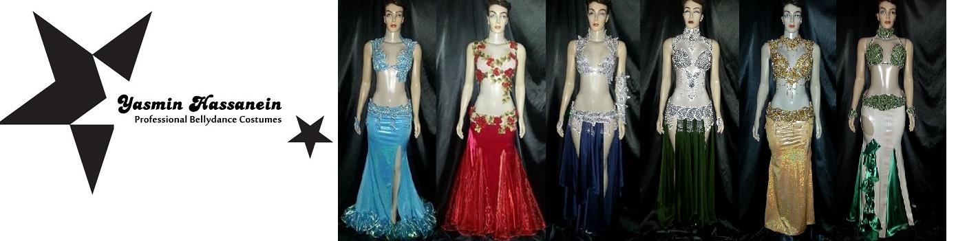 Atelier Yasmin Hassanein - Trajes para Dança do Ventre - Bellydance Costumes