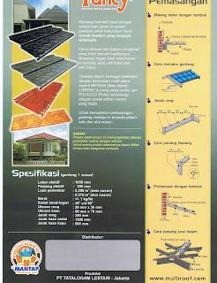 ... roof batuna batu alam fancy roof loreno loreng yang cantik fancy roof