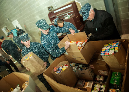 SAILORS ASSIST FOOD BANK