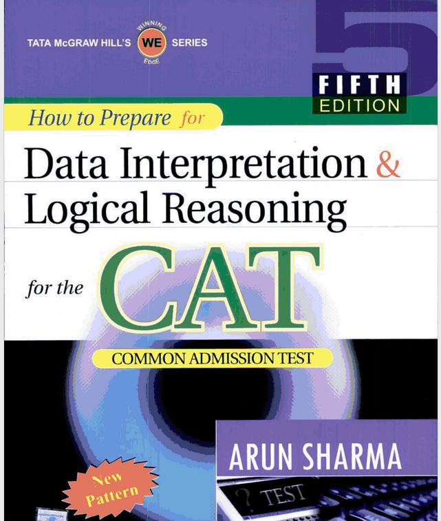 data interpretation for cat by arun sharma fifth edition