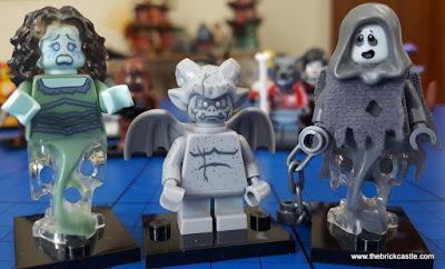 Minifigures for halloween lego wraith gargoyle spectre