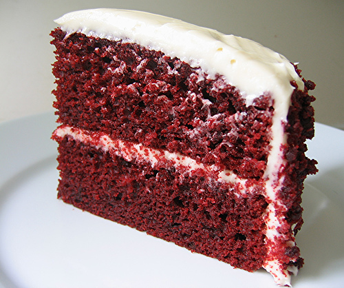 Serve andenjoy the Red Velvet Cake Recipe Dessert