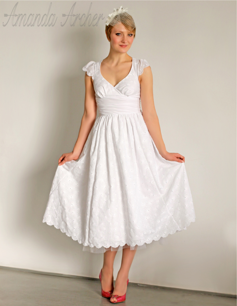 Independent designer new wedding dress collection for White cotton eyelet wedding dress