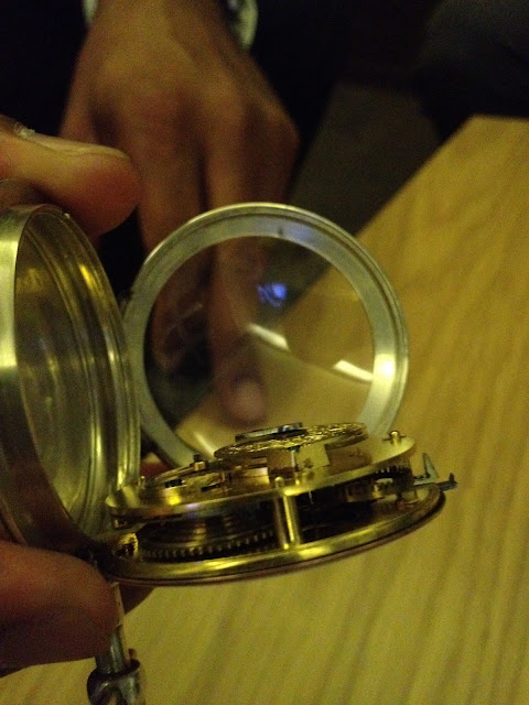 Exclusive Photos of Historic Piguet Family Pocket Watch