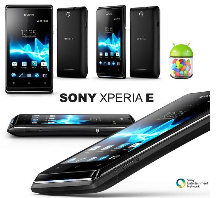 Spesifikasi Dan Harga Sony Xperia E1 Dual Sim OS Android Jelly Bean Murah