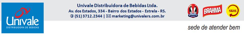 Univale Distribuidora de Bebidas - Estrela/RS