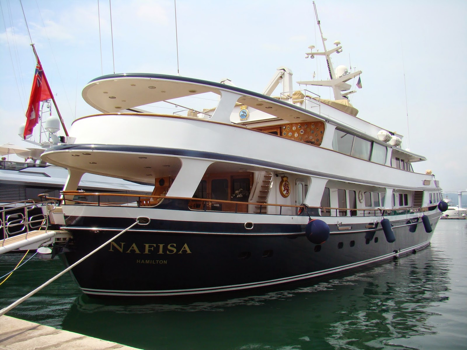 Superyacht Nafisa, owned by Mohammed Abdul Latif Jameel
