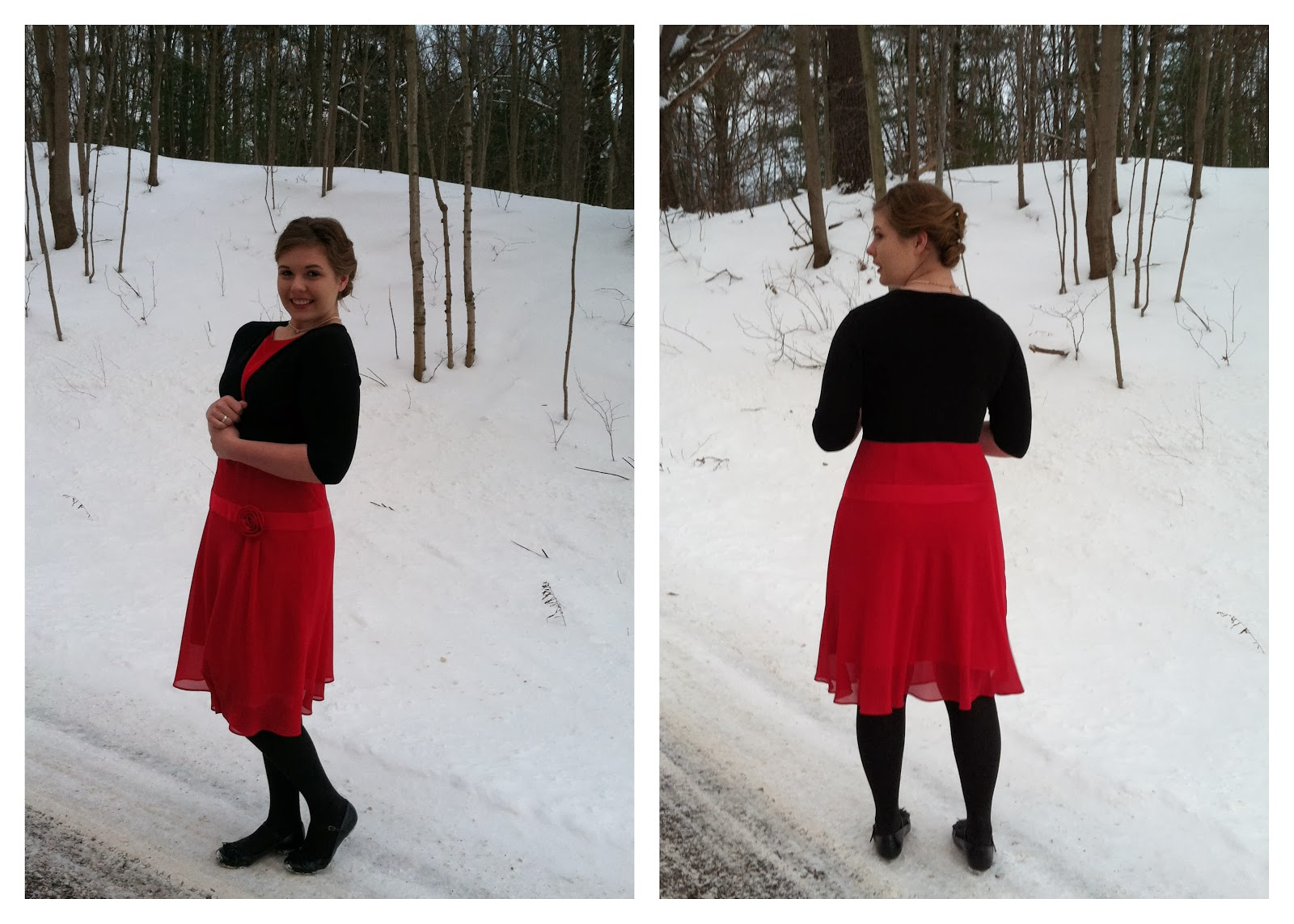 Shoes Thrifted Sale 140 Tights Gifted Slip Vintage Drop Waist 3 Dress 7 Shrug 4 Necklace