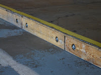 Mod Skate Ramp - Base Rail Detail