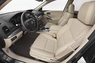 Review and Pictures of 2014 Acura RDX SUV Interior
