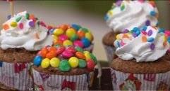 Cupcake de brigadeiro de morango