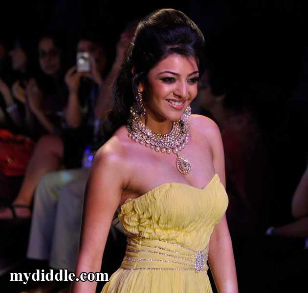 Kajal Agarwal Hot Ramp Walk Pics