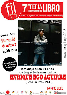 Enrique ego en Arequipa 2015