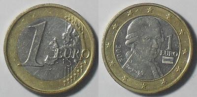 austrai 1 euro 2008