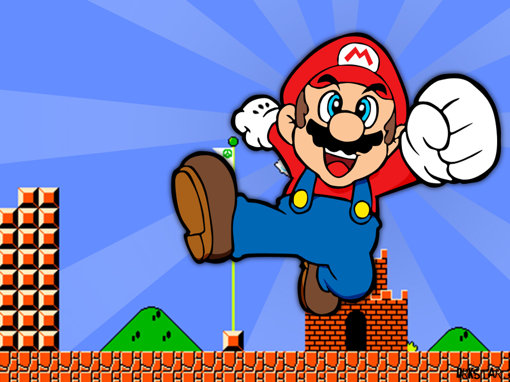 Super Mario HD & Widescreen Wallpaper 0.76784975556671