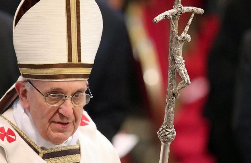 Oremos pelo Santo Padre Papa Francisco