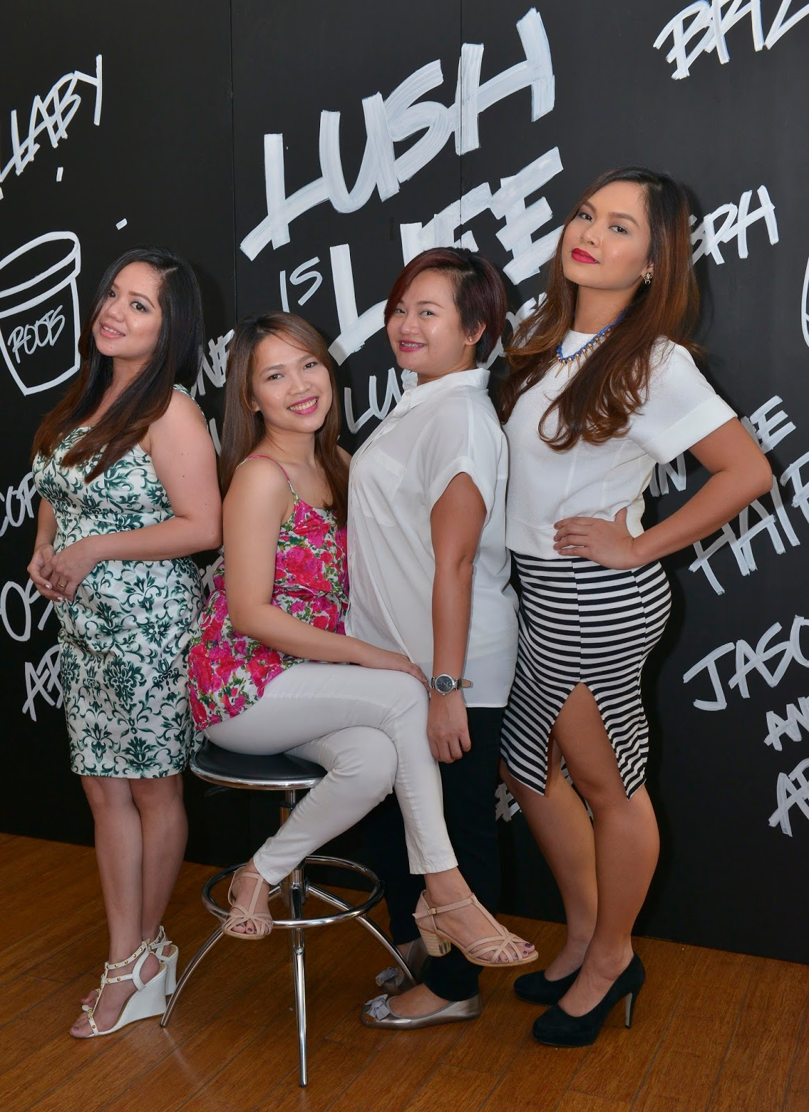 Lush New Shampoo Bars Launch at Piandre Salon