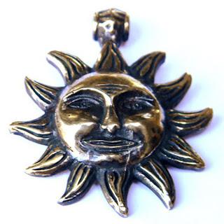 купить кулон солнце подвеска в виде солнца бронза украина