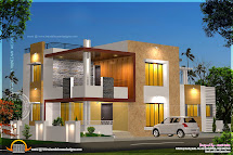 Modern House Plans and Elevations