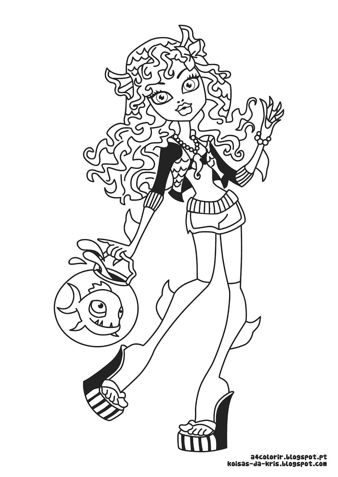 lagoona blue printable coloring pages - photo#23