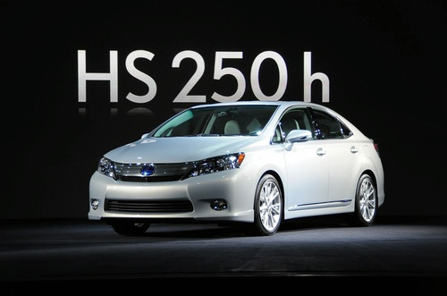 New Lexus HS 250h hybrid sedan Concept