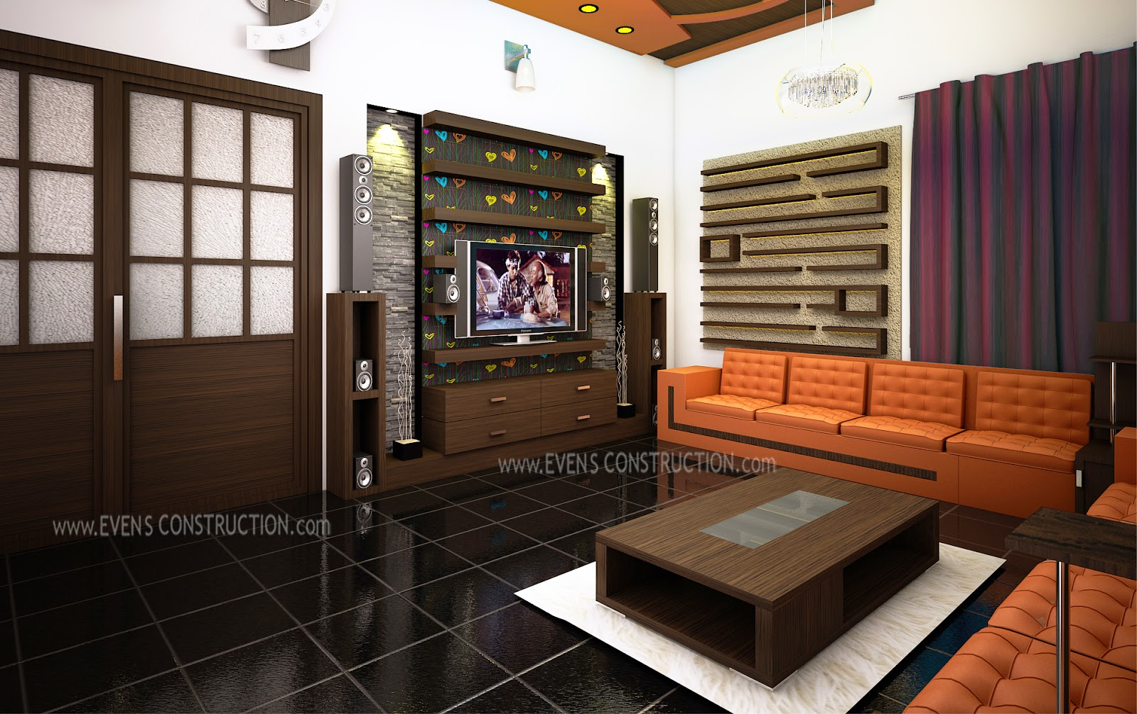 Living room for kerala home home