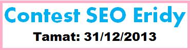 Contest SEO, blog Eridy