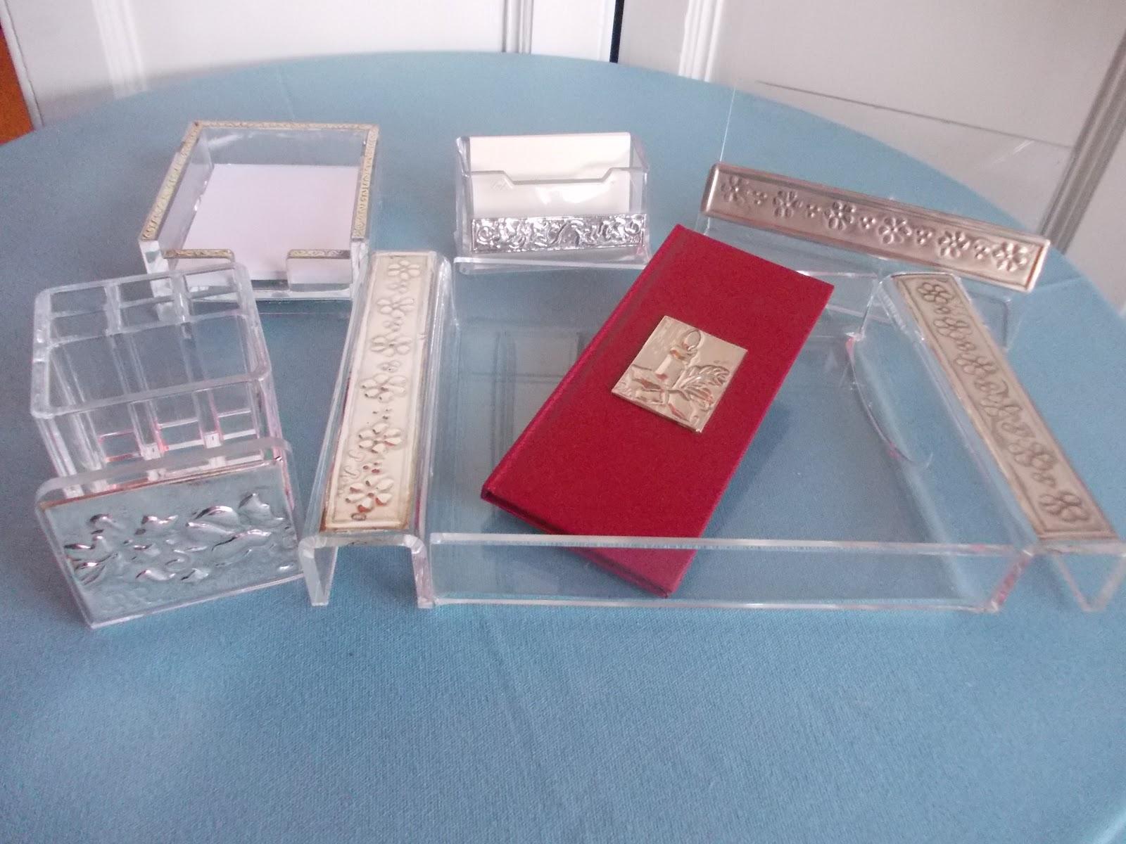 Paolaroma gioielli oggetti da scrivania in plexiglass e - Oggetti in plexiglass ...