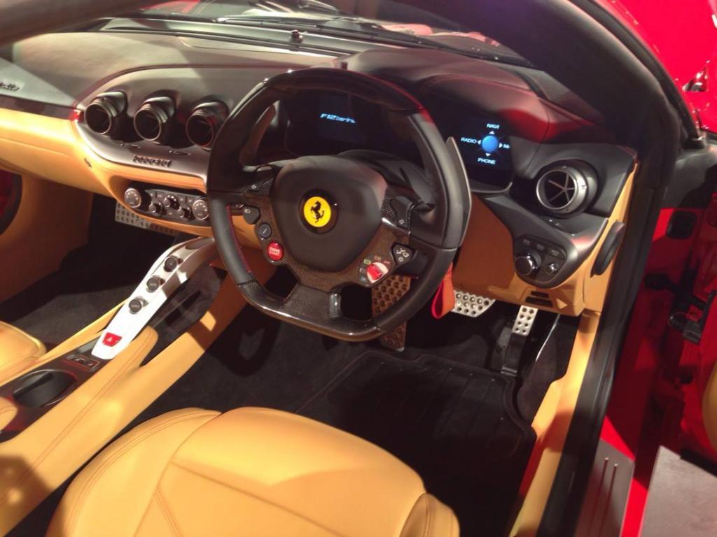 First Ferrari F12 Berlinetta Touches Down in South Africa