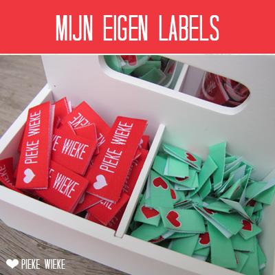 Mijn eigen Labels