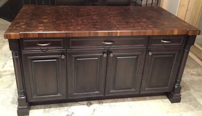End Grain Butcher Block Walnut Countertop Toronto
