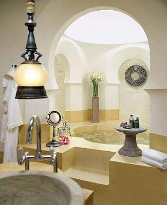 Kamar mandi inspirasi halaman Turki.