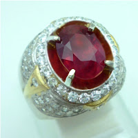 kode lp526 jenis batu permata natural ruby biasa disebut batu permata