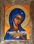 Maryja niosąca Ducha Świętego