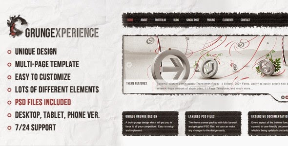 Best Premium Muse Template 2015