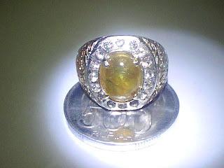 Di Jual Batu Cincin Yellow Sapphire