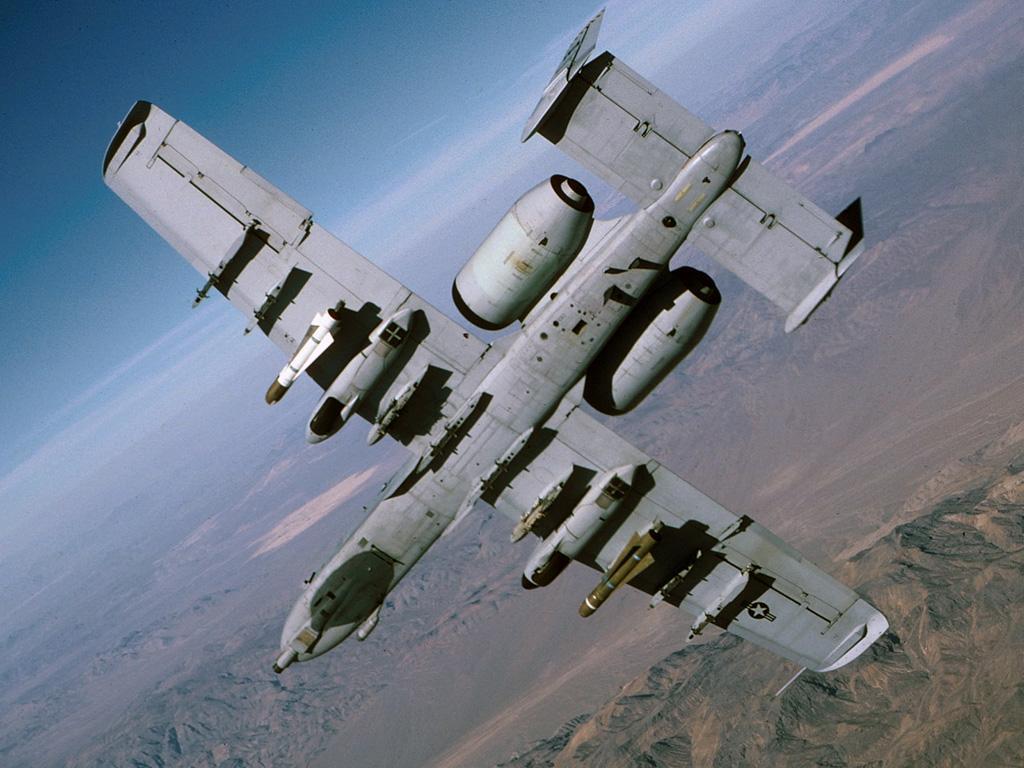 Avión con misiles