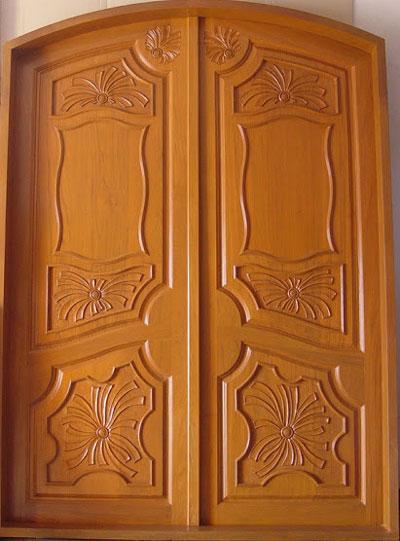 New Kerala Model Wooden Front Door Double Door Designs. New Model House  Door Door Models For House Main Door Models In New House. Width:400px  Height:541px