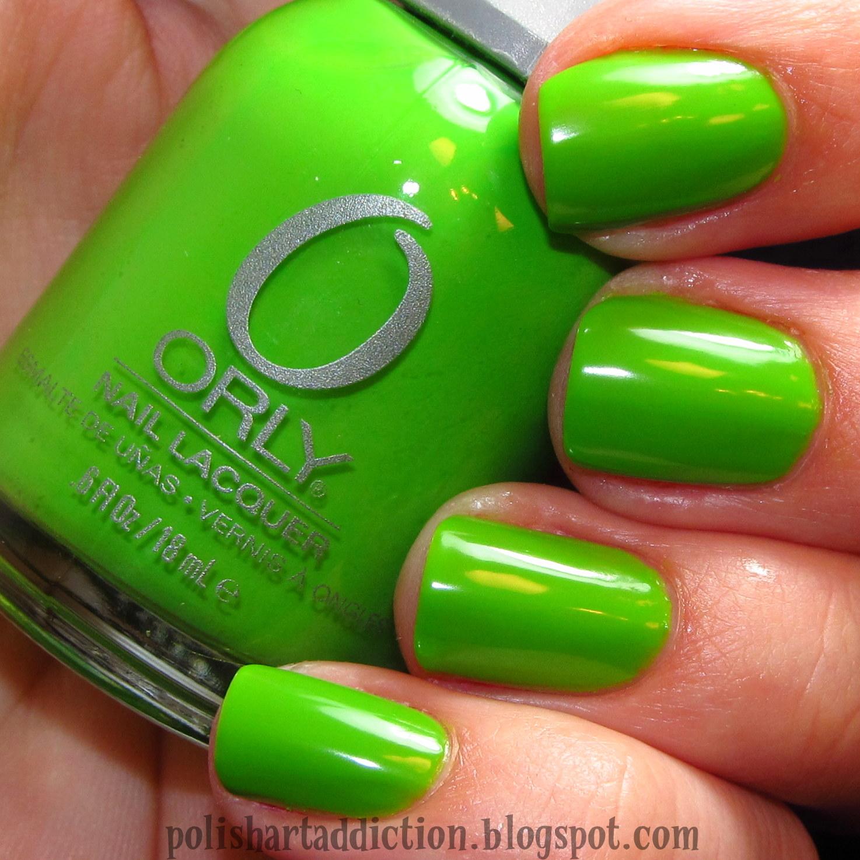 Orly - Fresh ~ PinkGrayChevron